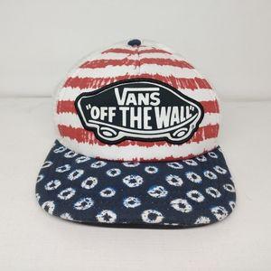 Vans Off The Wall Beach Girl Dyed Dots Trucker Hat